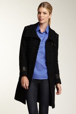 Cole Haan Wool Blend Coat