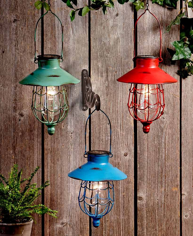 Diy Use Plastic Bowl Or Cup Plate Upside Down Wire Hangers For Bulb Cage In 2020 Solar Hanging Lanterns Solar Lights Garden Hanging Solar Lights