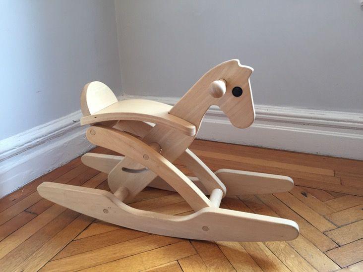 Plantoys Modern Wood Rocking Horse Wood Rocking Horse Modern Wood Rocking Horse