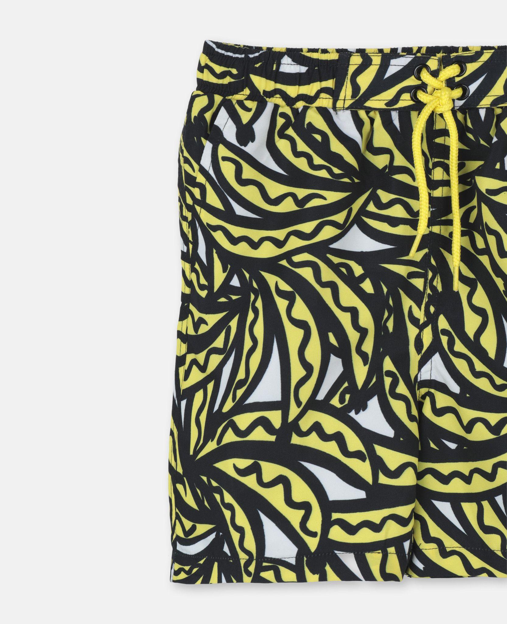508ec2cbffce7 Bananas Print Swim Shorts - STELLA MCCARTNEY KIDS | Living Fabulous ...