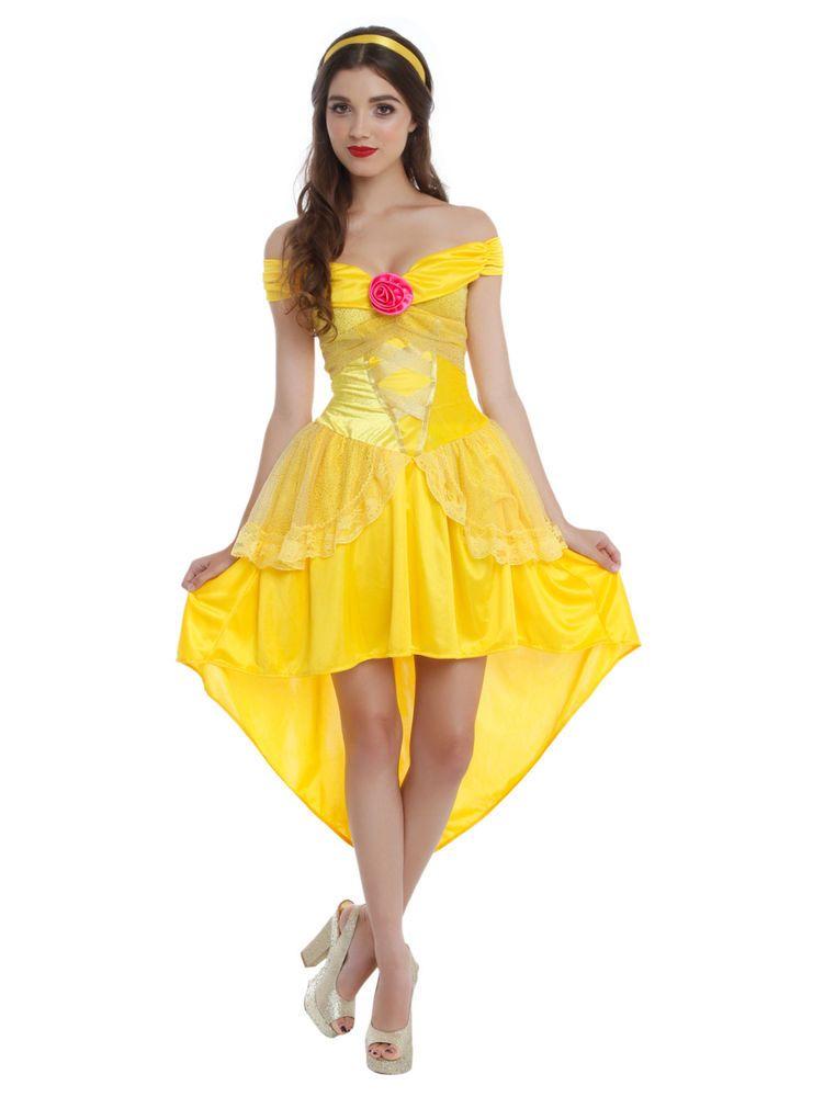 Deluxe Disney Beauty u0026 The Beast Enchanting Belle Costume Adult Size Fancy Dress  sc 1 st  Pinterest & Deluxe Disney Beauty u0026 The Beast Enchanting Belle Costume Adult Size ...