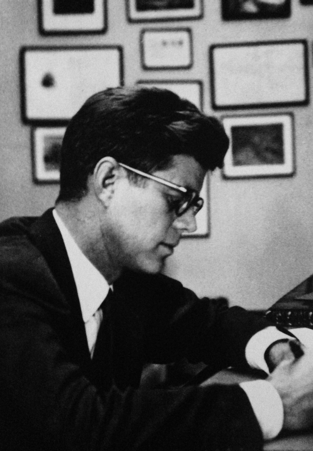 """""""If more politicians knew poetry, and more poets knew politics, I am convinced the world would be a better place to in which to live."""" Address Harvard 1956"""