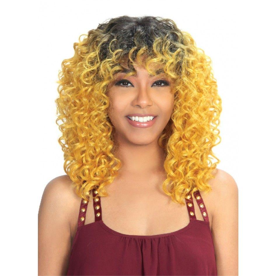 c32252910 Zury Sis Wig – Midas   Wigs   Wig hairstyles, Curly hair styles, Hair