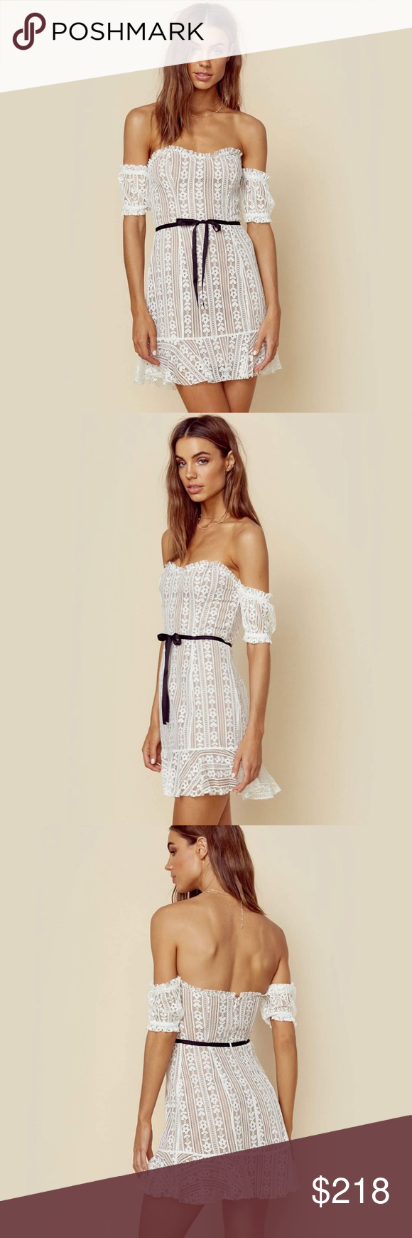 For Love And Lemons Dakota Lace Mini Dress Be Unlike Any