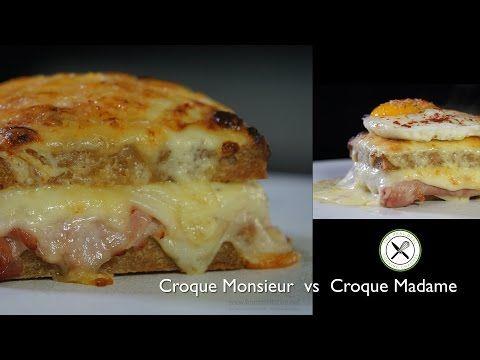Croque Monsieur Vs Croque Madame Bruno Albouze The Real Deal Croque Madame Croque Monsieur French Dishes