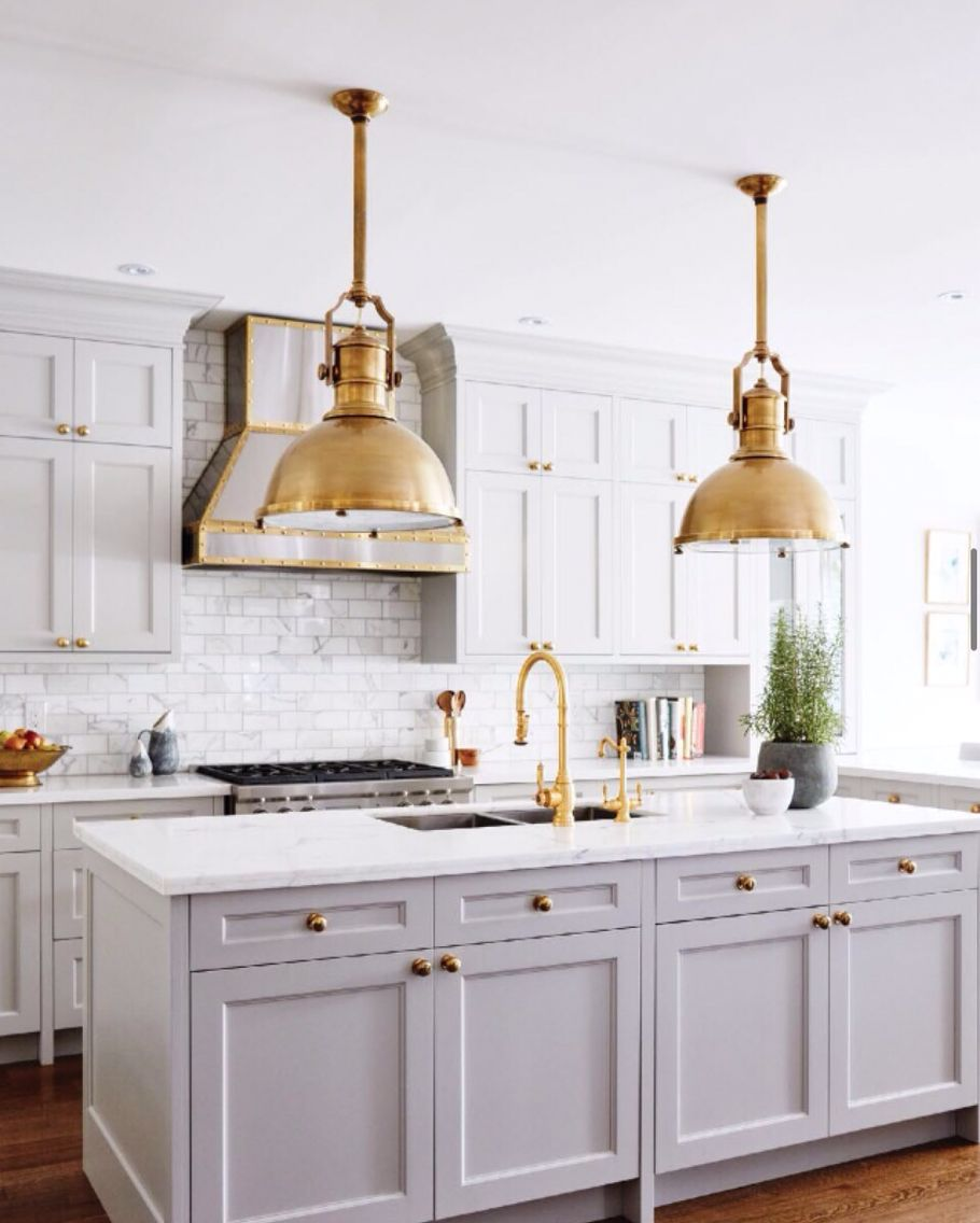 Bring on the brass times brass interiors nailed it kitchens