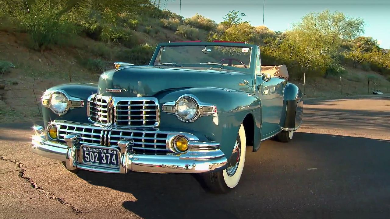 Cruising in a 1948 Lincoln Continental   Classic Cars   Pinterest ...