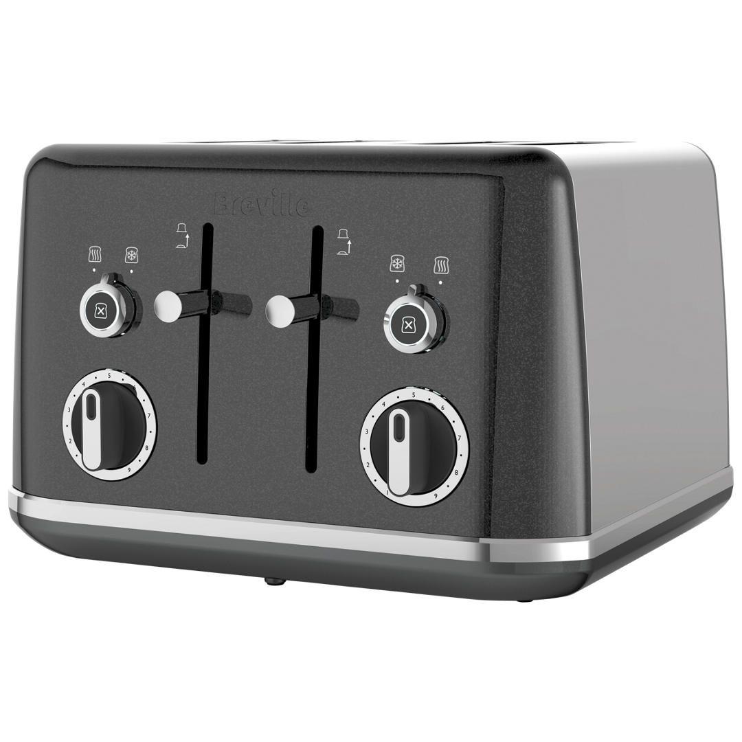 Breville Lustra 4 Slot Toaster Cream 4 Slot Toaster Kettle