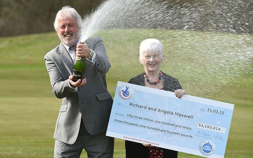 Retired Richard and Angela Maxwell, from Boston, tell how they thought winning   EuroMillions jackpot was prank as they sit 10th on the National Lottery's UK   rich list
