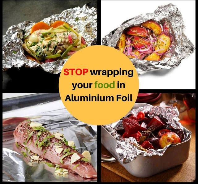 Avoid Aluminium Foil Switch To Something Organic Food Wrapping