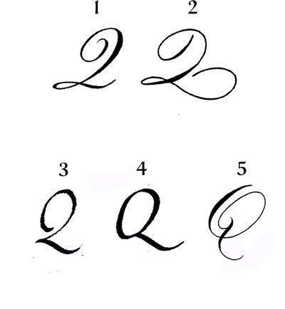 Image result for capital cursive q | Cursive q, Cursive ...