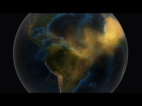 El Amazonas depende del Sáhara para mantenerse fértil - Un muy buen video de la NASA