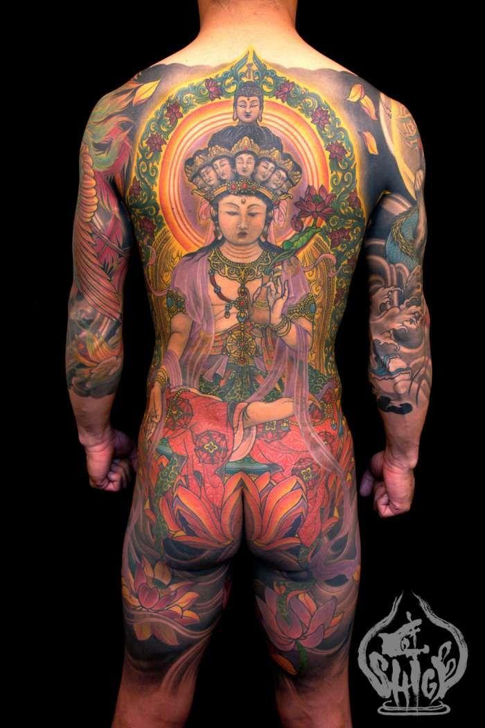 tatouage japonais dos homme. Black Bedroom Furniture Sets. Home Design Ideas