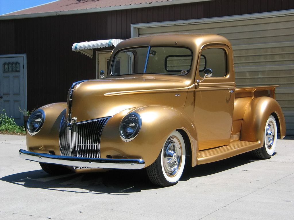 images of ford hot rod trucks | 1940 Ford Pickup of George Poteet ...