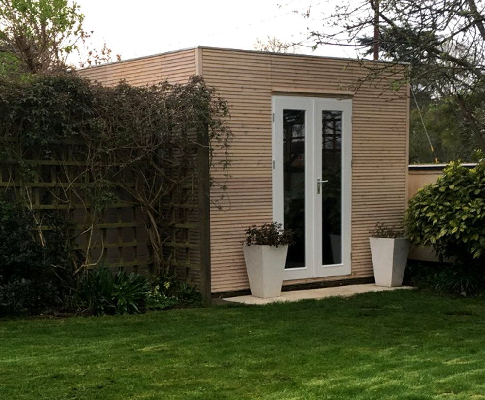 Massage therapy studio contemporary garden rooms by harrison james - The Contemporary Linea 3m X 2 5m Garden Office Under 2 5m To