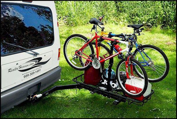 Swing Away Bike Gear Rack Vw Eurovan Vw Eurovan Camper Cargo