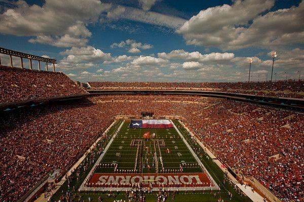 Dkr Texas Memorial Stadium Austin Tx Longhorns Football