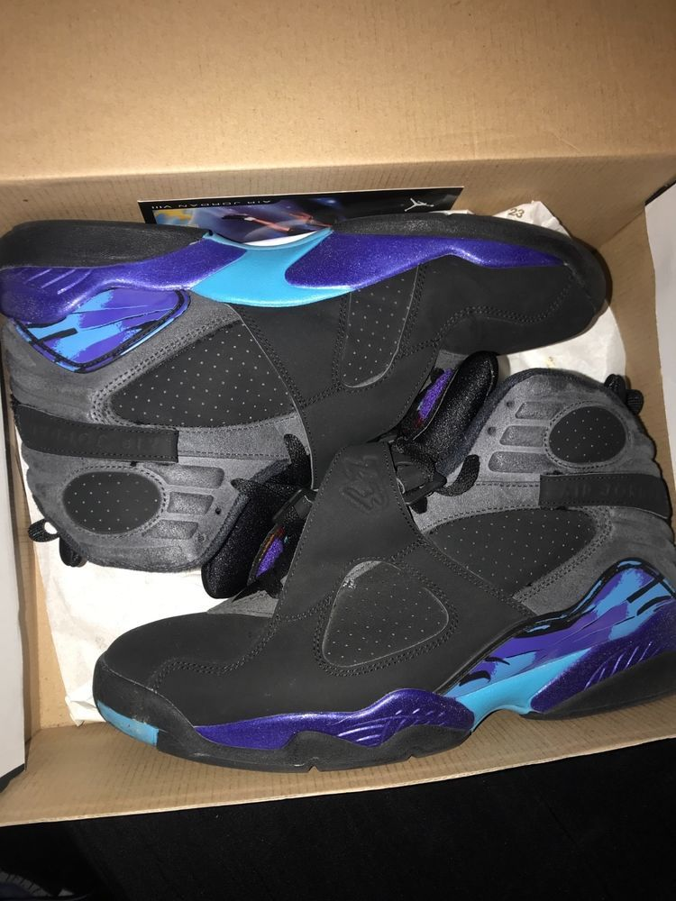 97f5d7f6ae2ce2 Jordan Retro 8 Aqua 2015 Size 10.5 Preowned Authentic With Box And Receipt   fashion  clothing  shoes  accessories  mensshoes  athleticshoes (ebay link)
