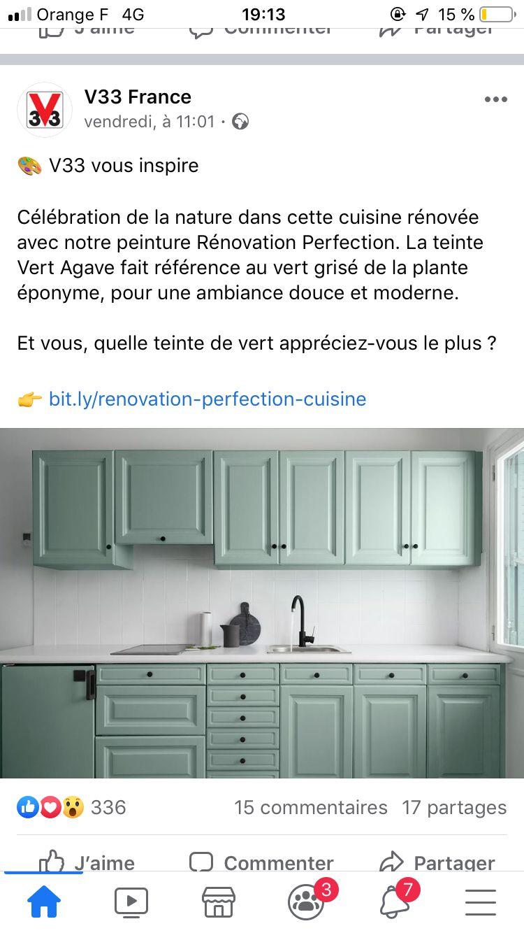 peinture pour meuble de cuisine v33 idees