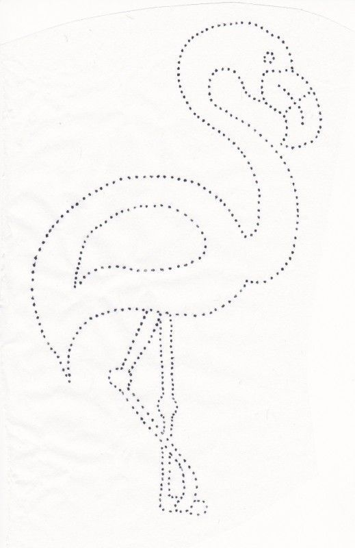 Résultat de l'image pour le motif de découpe flamingo   – Stitch in Time