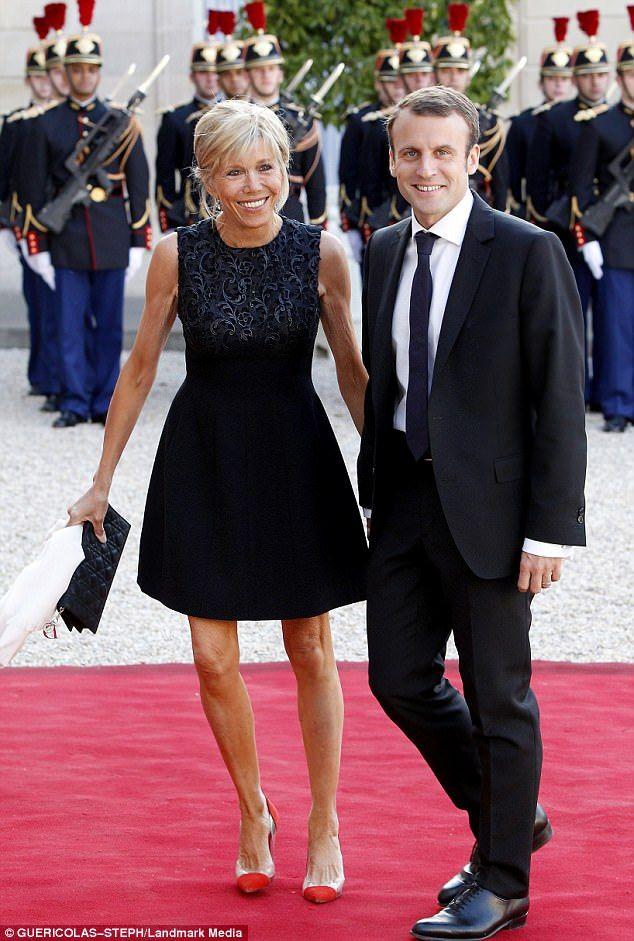 Emmanuel Macron S Mother Sent Him To Paris To Escape Brigitte Trogneux Formal Dresses Dresses Fashion