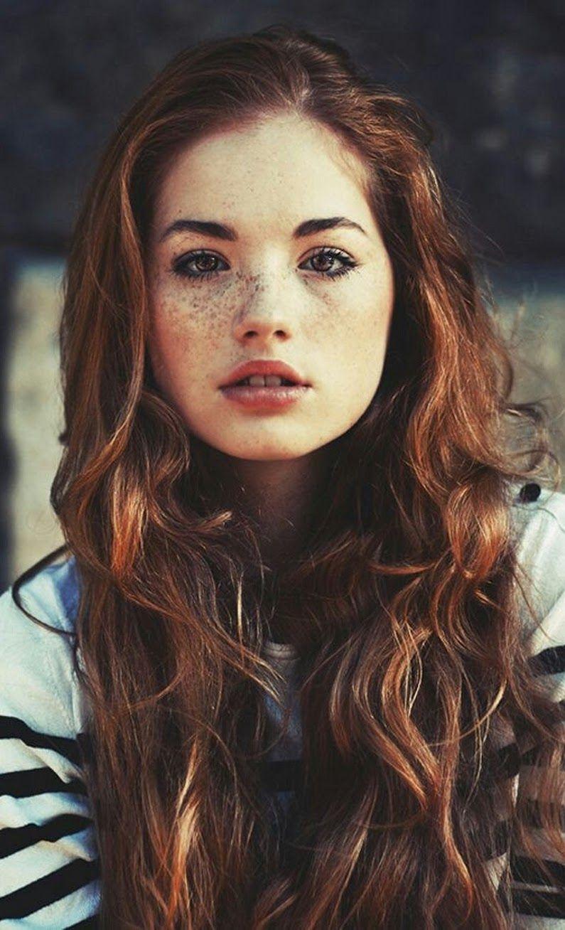 David Jones graciani Light brown hair, Freckles girl