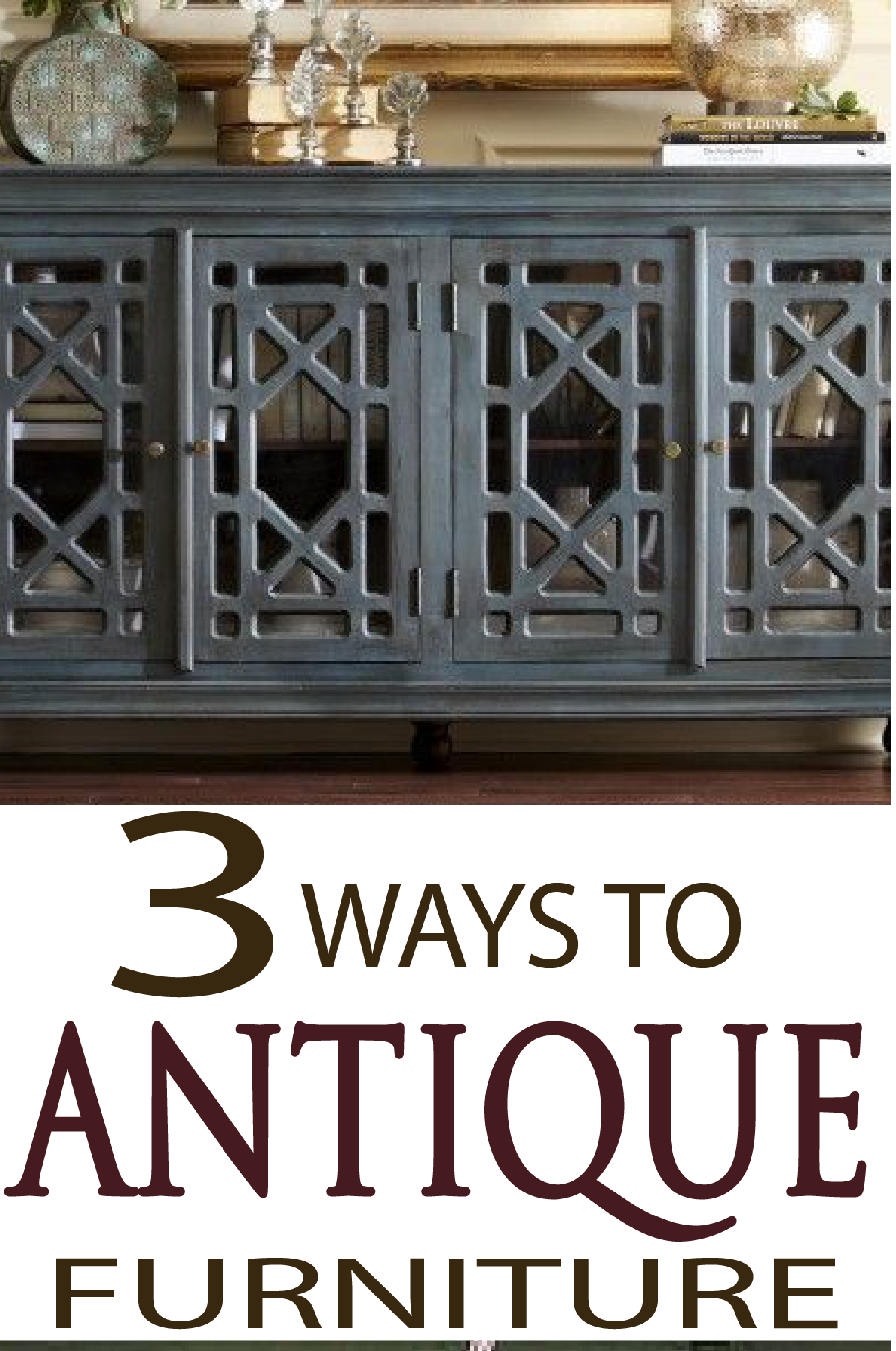 ways to get an antiqued look when painting furniture home design