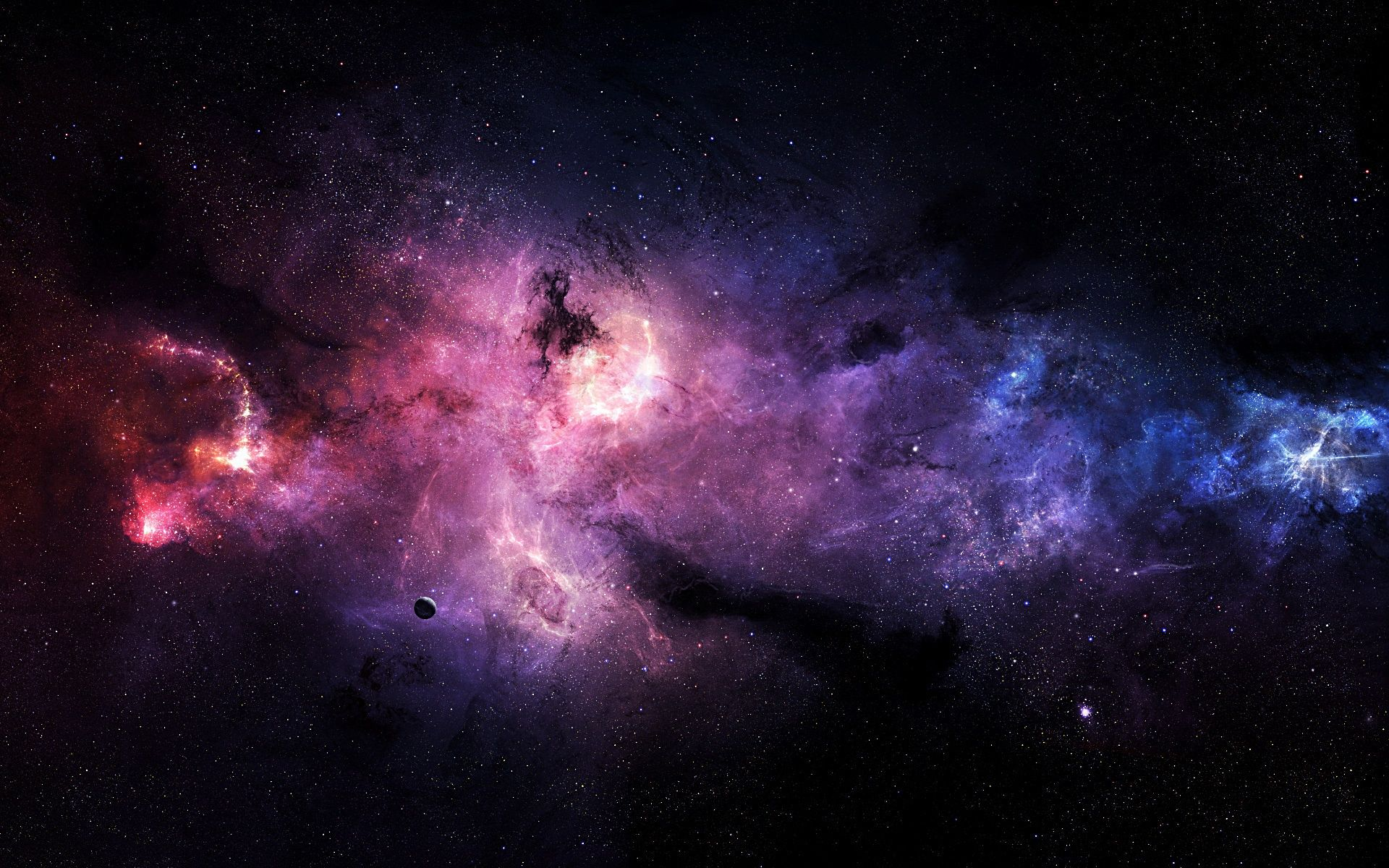 universe hd purple wallpaper. | hd wallpapers | pinterest | hd