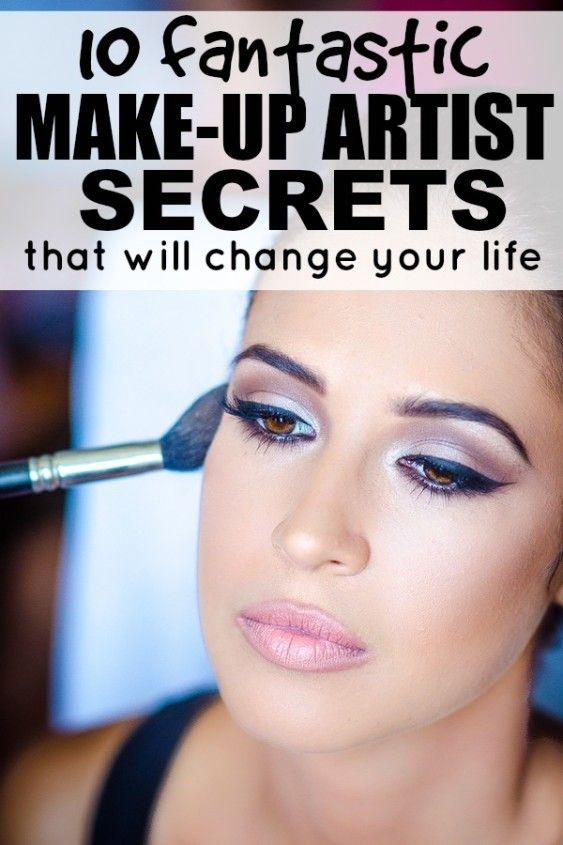 Makeup Tutorials With The Best Kept Secrets Of Makeup Artists Makeup Artist Secrets Skin Makeup Makeup Tips