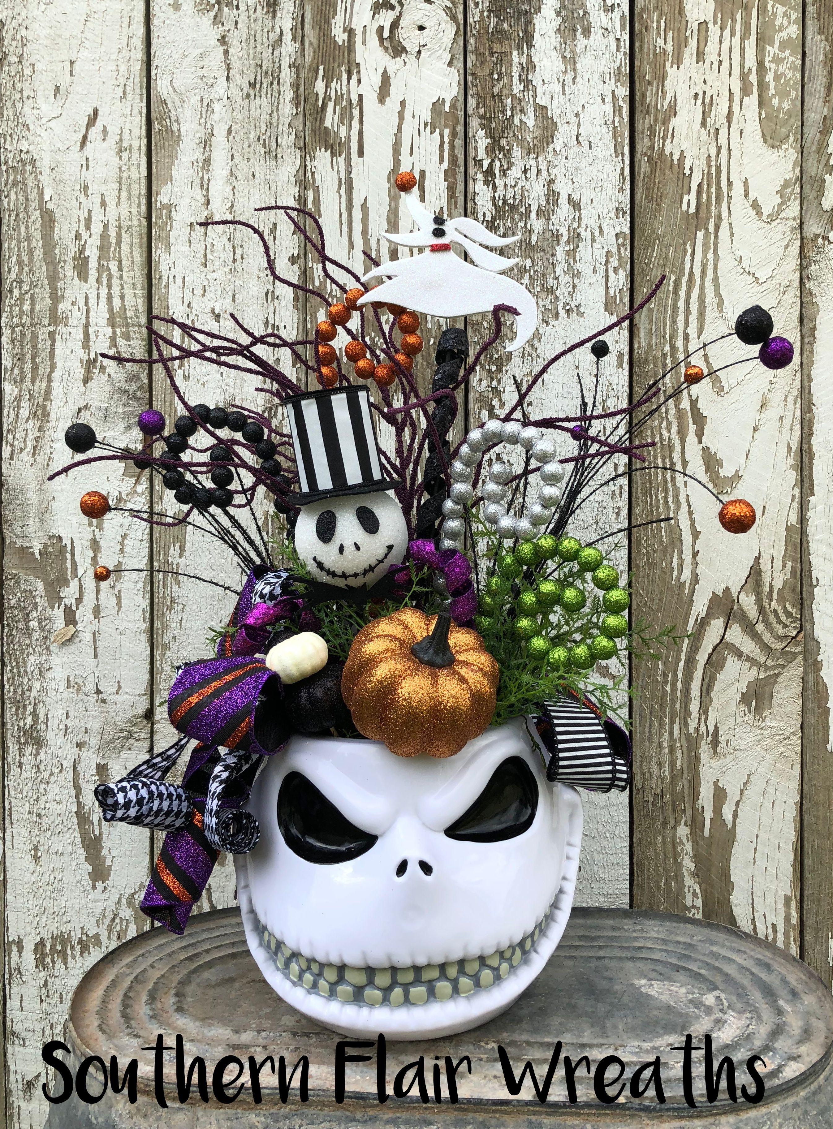 """""""The Pumpkin King"""" Centerpiece!!! 🎃💀🦇🕸🎃💀🦇🕸🎃💀🦇🕸🎃💀🦇🕸🎃 Jack"""