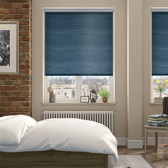 Blackout Bedroom Blinds Pleasing Choices Dupioni Faux Silk Teal Blackout Roller Blind  Teal Roller Decorating Inspiration