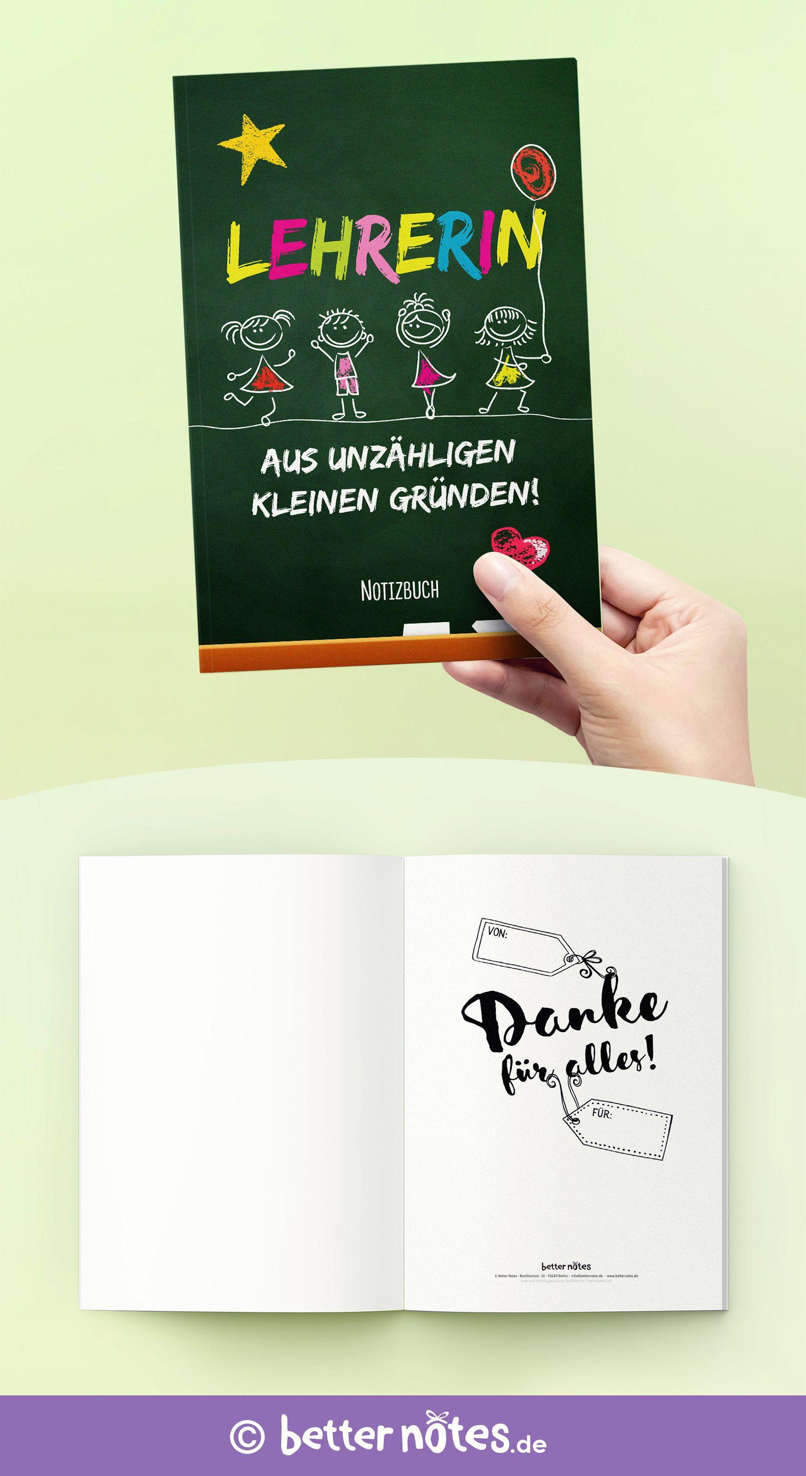 Lehrerin Aus Unzähligen Kleinen Gründen Schönes Notizbuch