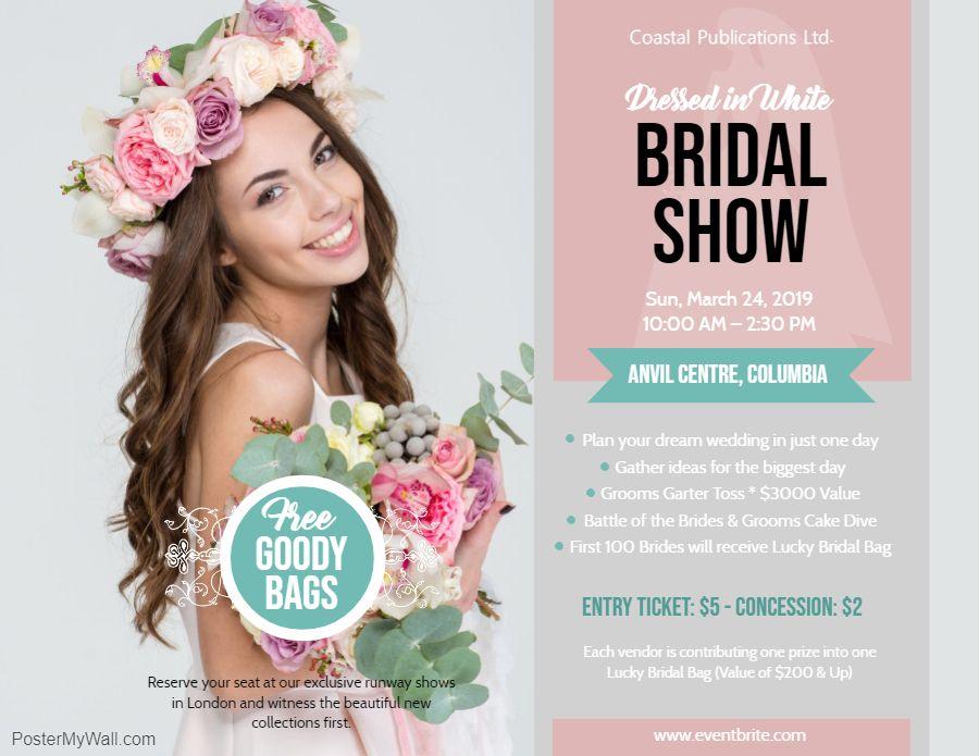Bridal Show Flyer Wedding Fair Wedding Show Bridal Show