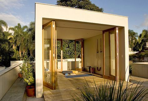 best yoga room outdoor backyards 62 ideas with images