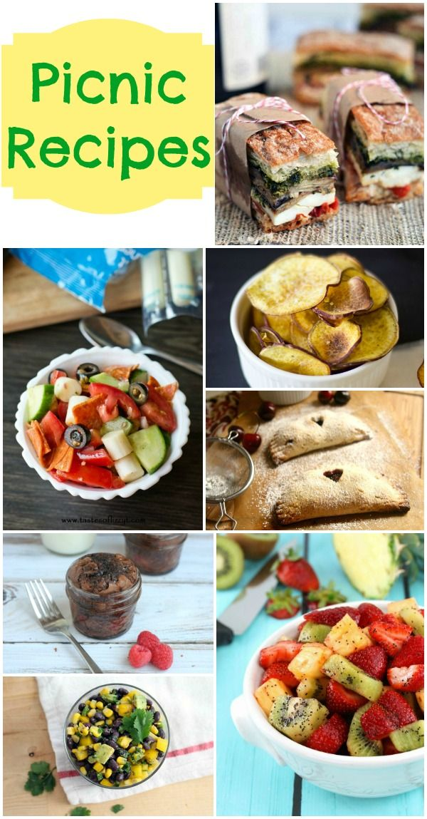 Picnic Recipes (Summer Collection | Picnic foods, Family ...