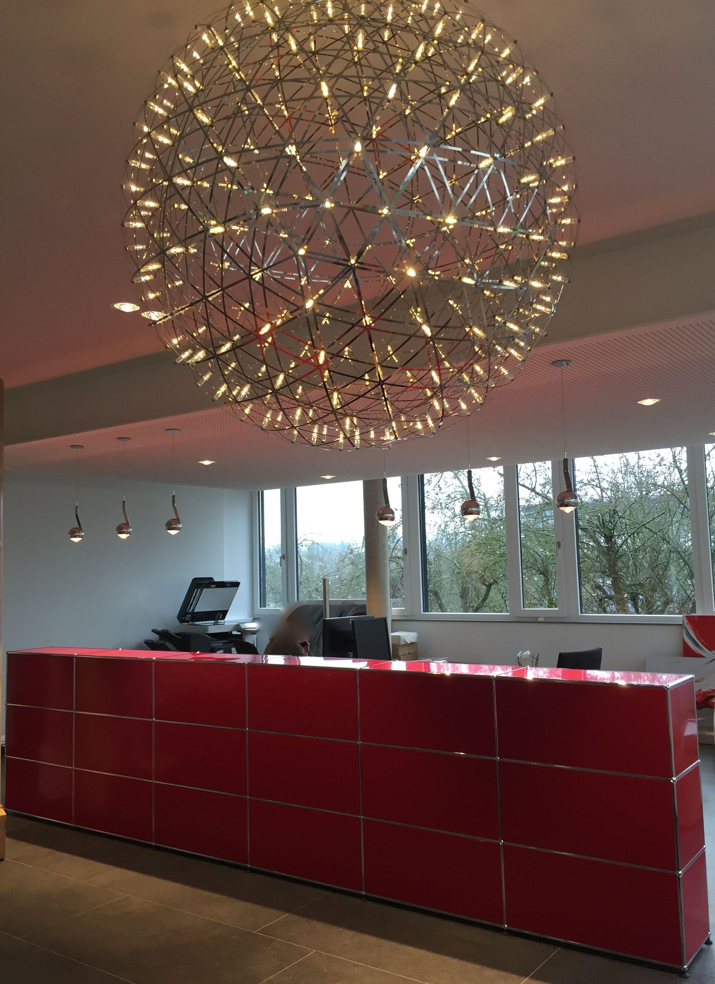 Referenz mit USM Haller, occhio più piano LED Einbauleuchten, und ...