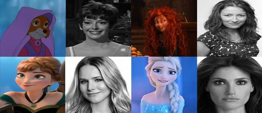 Disney Leading Lady Voices in Movies Part 4 by ...