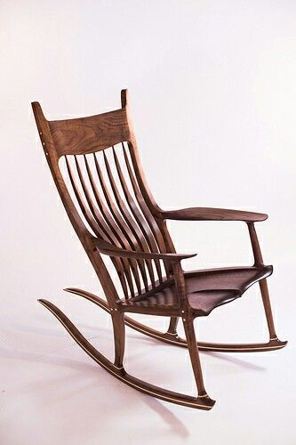 Rocking Chair Fine Woodworking Steel Factory Maloof Inspired Made By Jeremy Garland Garhrwd1 Gmail Com