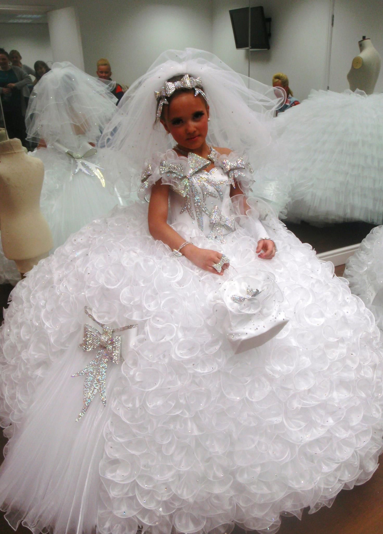 Another 1st Communion Dress Gypsy Bling Pinterest