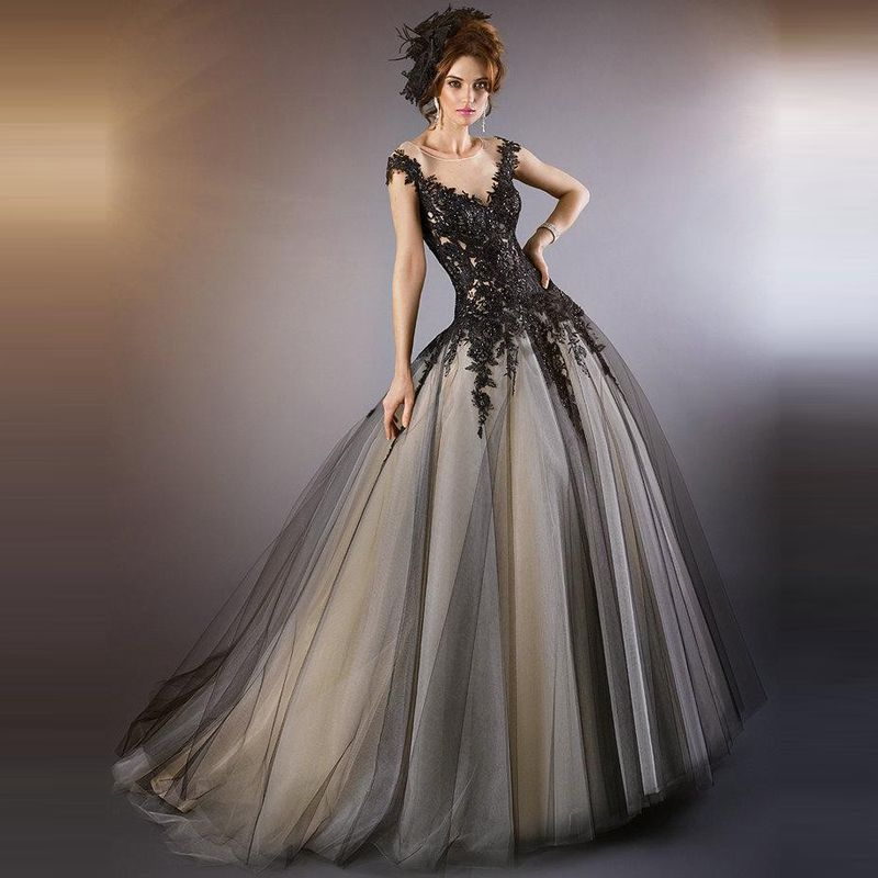 Find more wedding dresses information about 2015 gothic for Gothic wedding dresses cheap