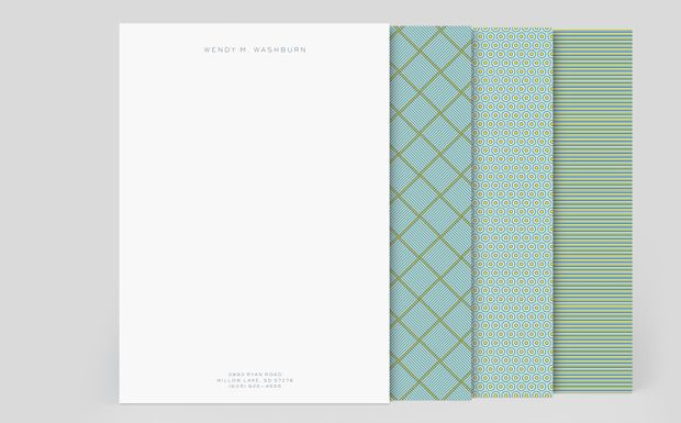 letterhead with design on the back moo com design misc
