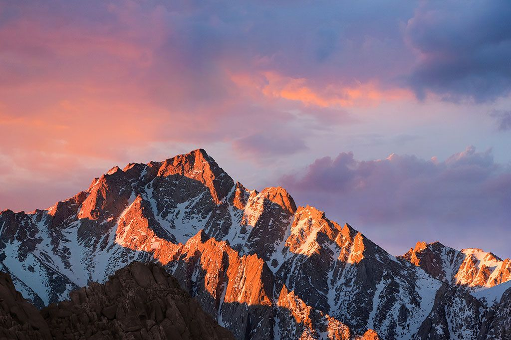 Macos V10 12 Sierra Beta 1 Default Wallpapers Macos