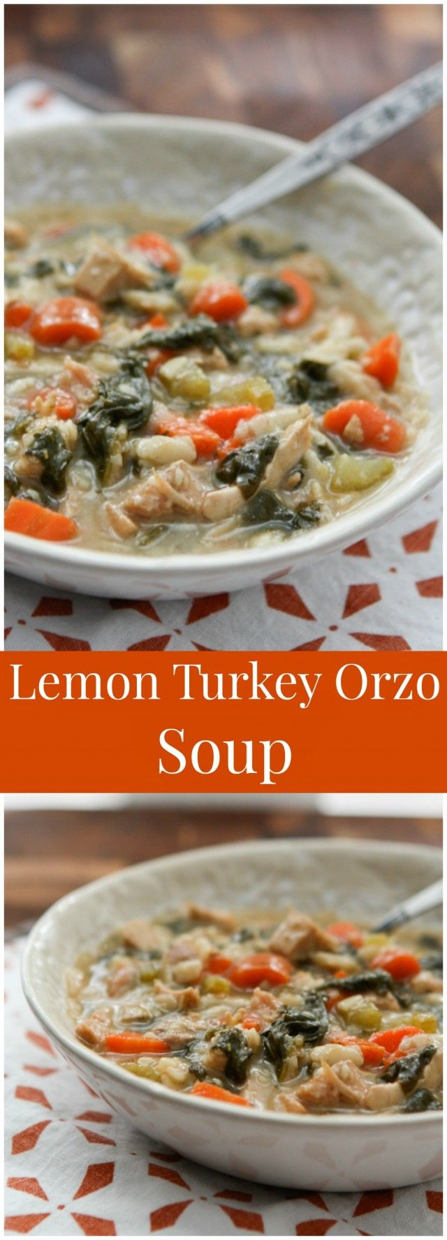 Lemon Turkey Orzo Soup Recipe Orzo Soup Healthy Soup Recipes Soup
