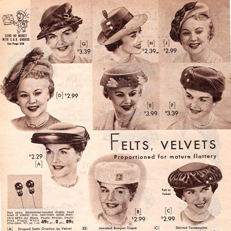 What Did Women Wear In The 1950s 1950s Fashion Guide Hats Vintage Hats For Women Hat Fashion