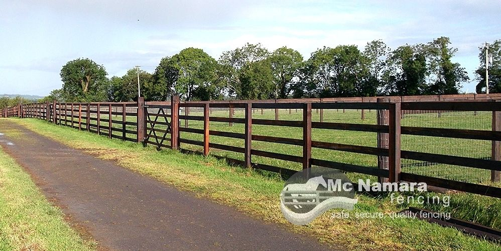 Creosote Equine Fencing Rail Fence Backyard Inspiration Fence