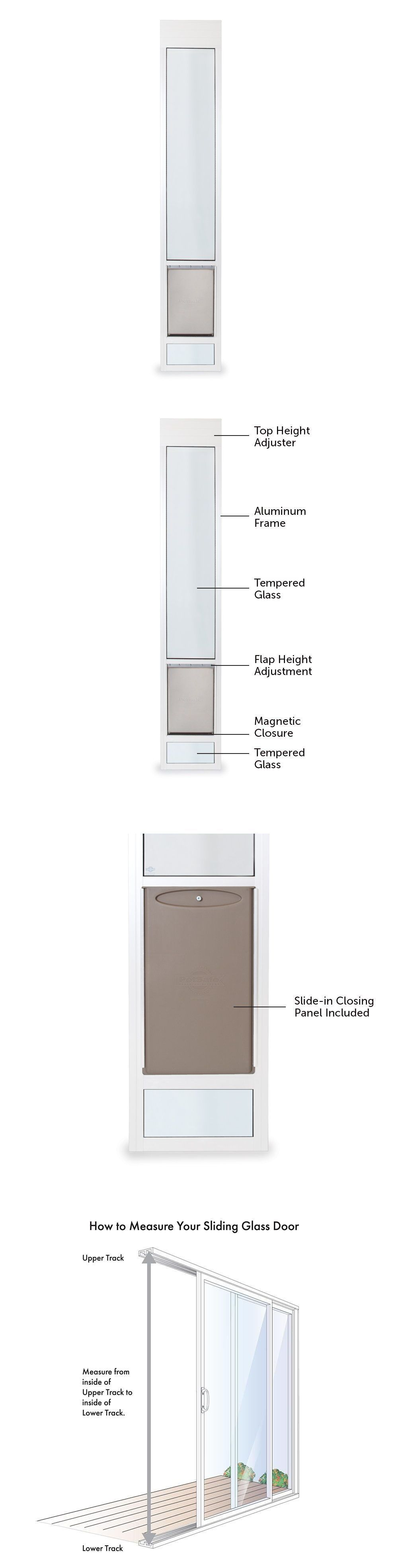 pet freedom sliding beautiful glass depot designs windows home petsafe doggie doors panel door ideas dimensions patio