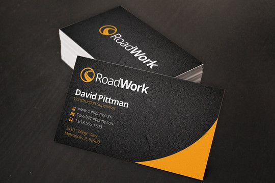 Free PSD Business Card Templates Free And Useful Online - Business card template free online