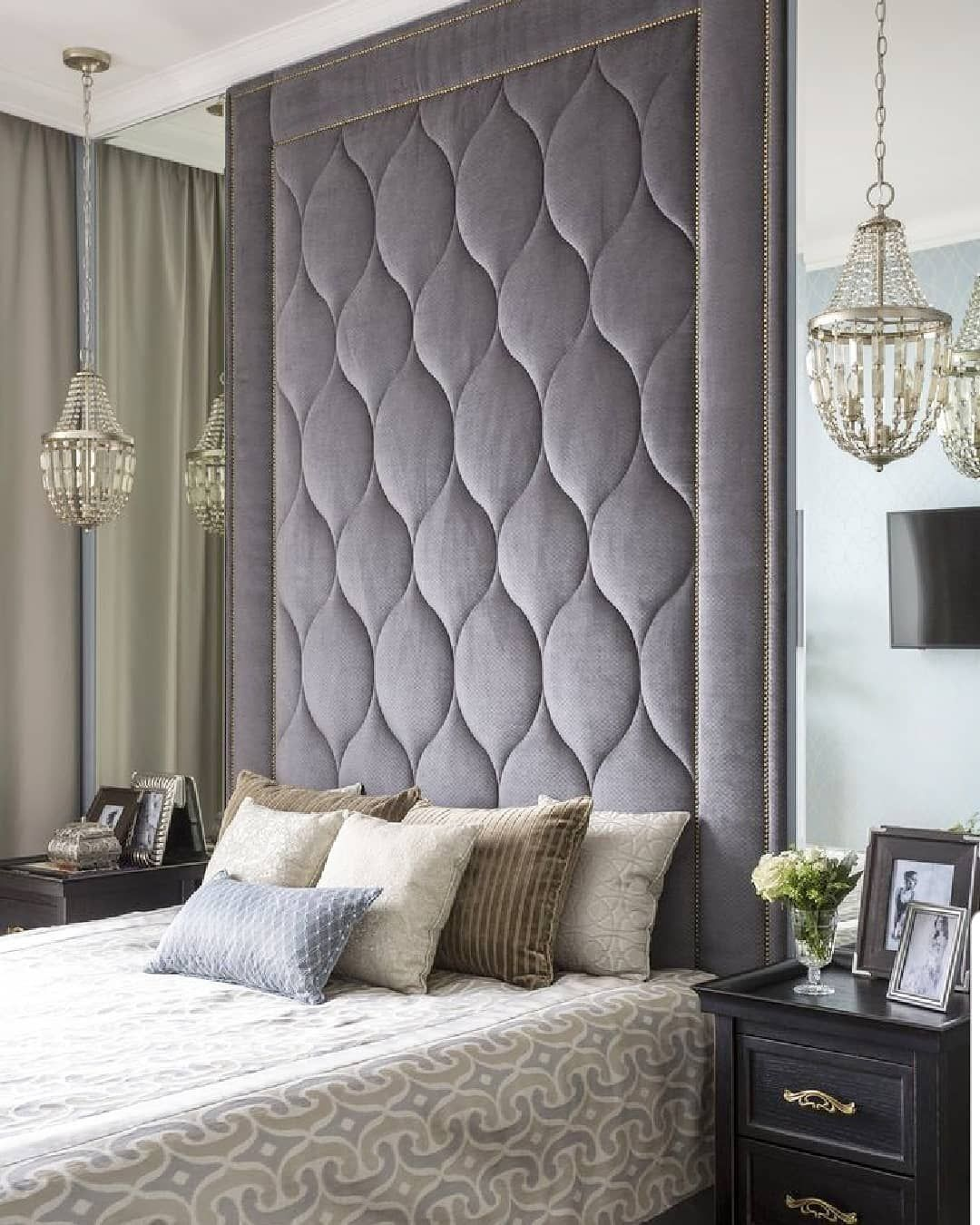 Monica Wilcox On Instagram These Tall Headboards Are All The