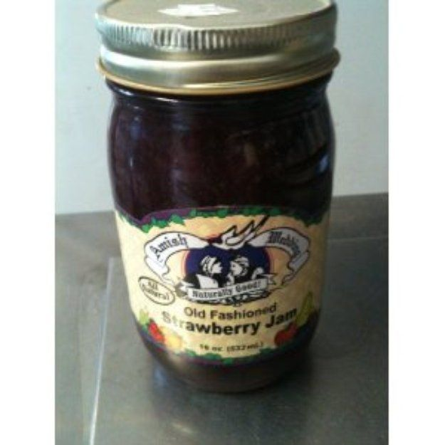 I'm learning all about Amish Wedding Old Fashioned Strawberry Jam at @Influenster!