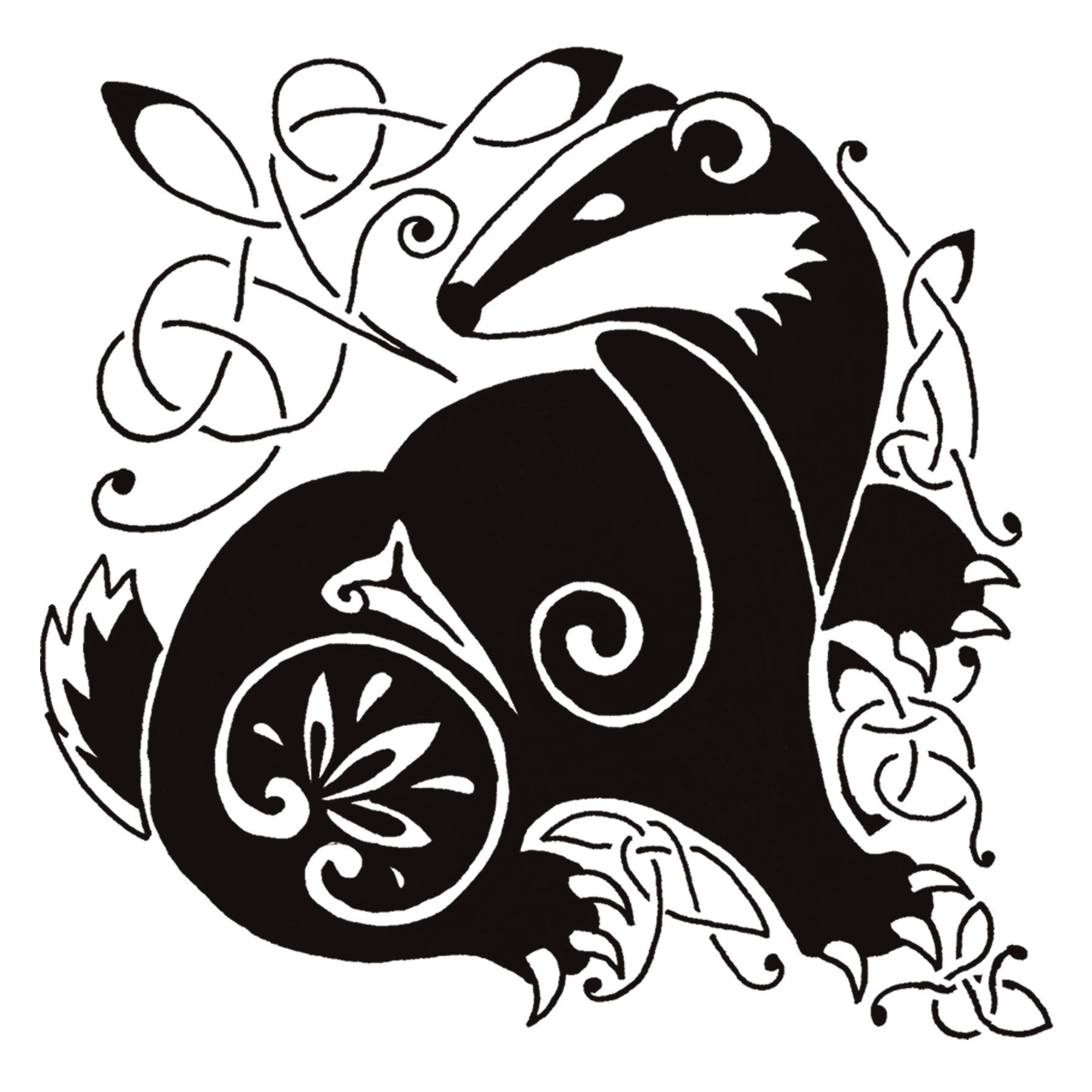 celtic badger - Google Search | Motifs | Badger tattoo ...